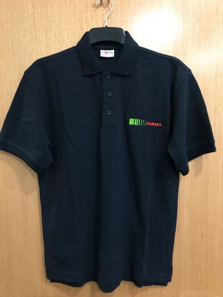 Claas Navy Polo Shirt